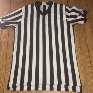 Referee shirt without whistle